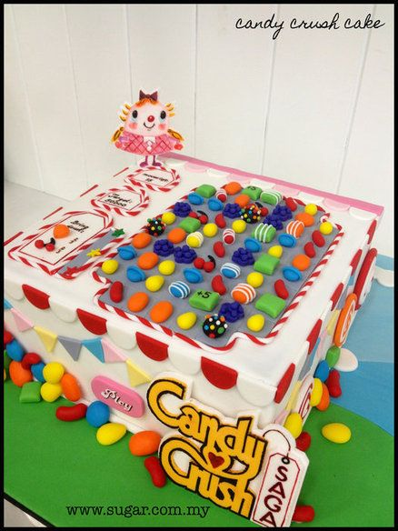 Pin Candy Crush Cake By Weennee Cakesdecorcom Decorating On  cakepins.com
