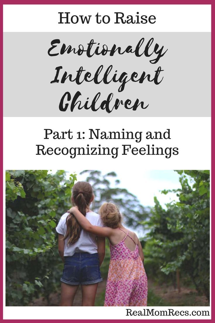 Teach your children emotional intelligence starting from toddler age. This guide informs parents how to lay the framework for their child's emotional intelligence, starting with learning to name their feelings and recognize the corresponding facial expres
