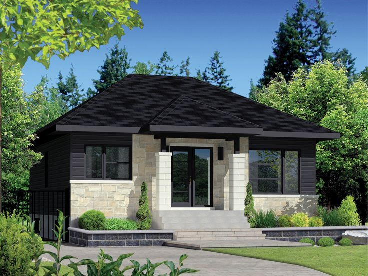 072h 0252 Narrow Lot House Plan In 2020 Modern Contemporary House Plans Narrow Lot House Plans Contemporary House Plans