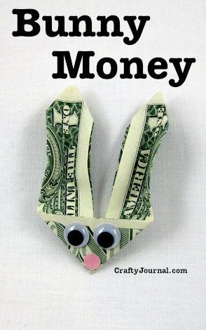 Bunny Money by Crafty Journal