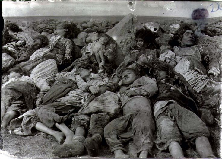 (Turkish genocide against the Armenians.)