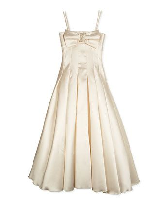 25 best zoe ltd spring 2015 shop neiman marcus images on pinterest long pleated gown w bow cream by zoe at neiman marcus junglespirit Choice Image