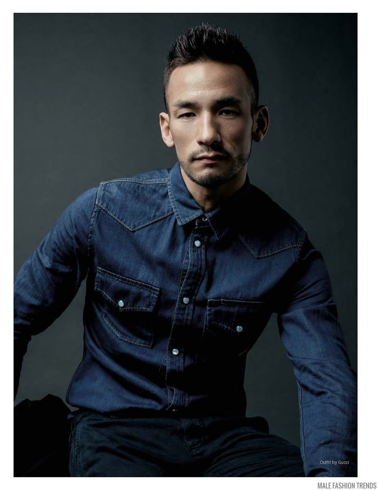 Male Fashion Trends: Hidetoshi Nakata para DAMAN Magazine Diciembre/Enero 2016