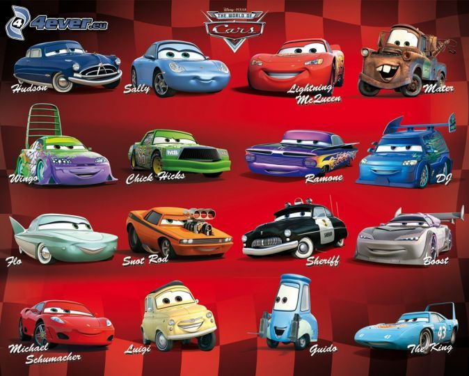 disney cars 1 characters stosum pinterest disney cars and disney cars. Black Bedroom Furniture Sets. Home Design Ideas