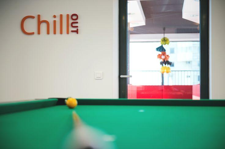 Games Room, designed by Morphoza, for Fortech, Cluj-Napoca.
