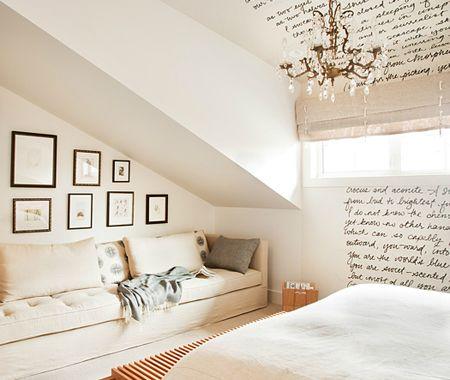 slanted ceilings