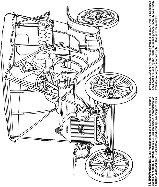 29 best Coloring Pages/LineArt Cars images on Pinterest