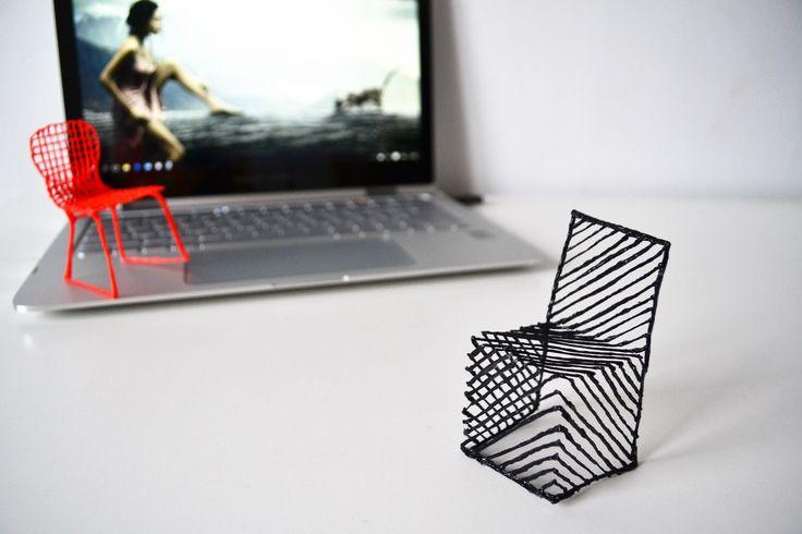 Les 25 meilleures id es de la cat gorie stylo 3d sur - Designer de chaise celebre ...