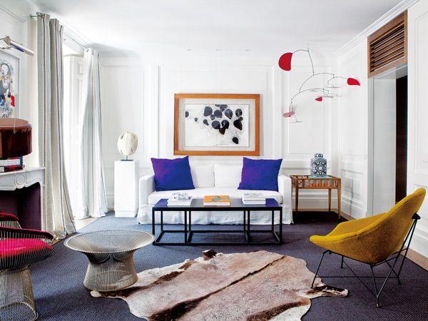 Eine Moderne Farbmischung Als Inspiration Einrichtung Wohnen Wohnzimmer Zuhause