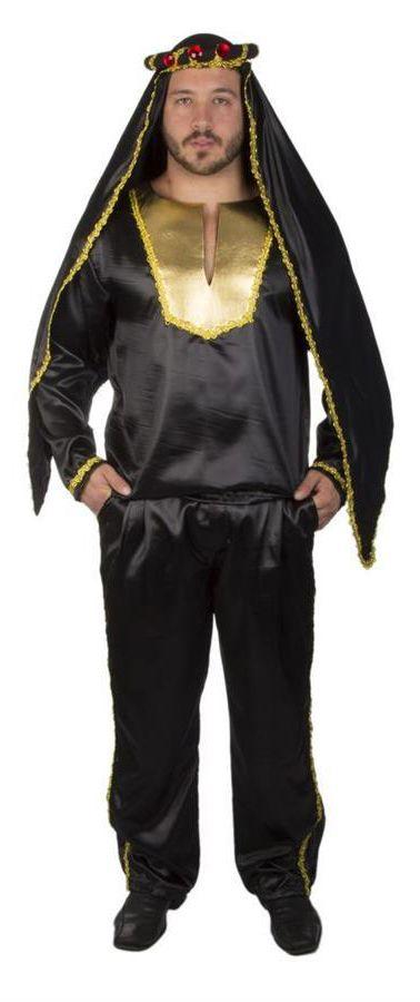 Gostaria de ter um harém só pra você? Então use a nossa fantasia de Árabe Sheik calça e tenha todas as mulheres aos seus pés.