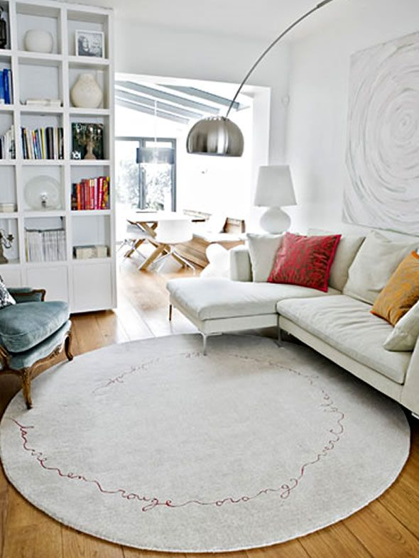 1000 ideas about round rugs on pinterest rugs area - Living room area rugs contemporary ...