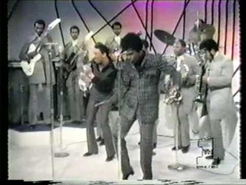 Sex Machine  James Brown  US Live TV show 1971.  Although Brown was deemed the Godfather of Soul he was also the Forefather of Funk as this clip shows.