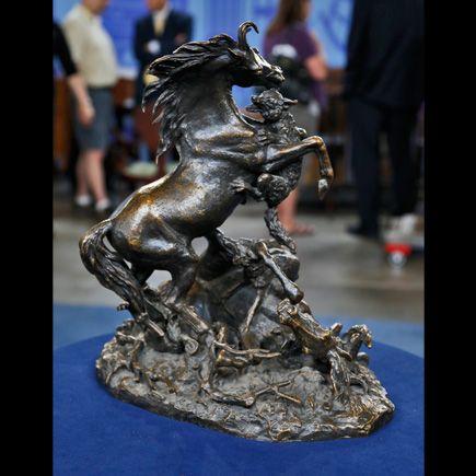 Christophe Fratin Bronze Sculpture, ca. 1850