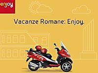 Roma: il servizio di scooter sharing eni Enjoy