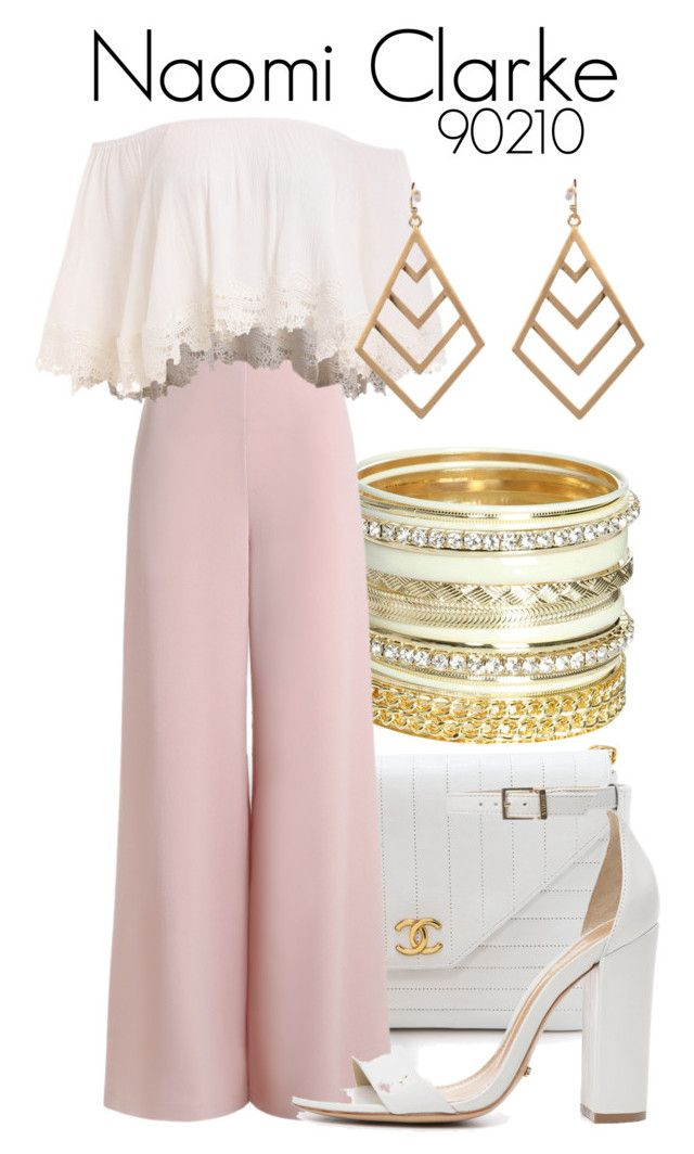 90210 by sparkle1277 on Polyvore featuring polyvore, fashion, style, Zimmermann, Schutz, Chanel, Wet Seal, Style Tryst and clothing