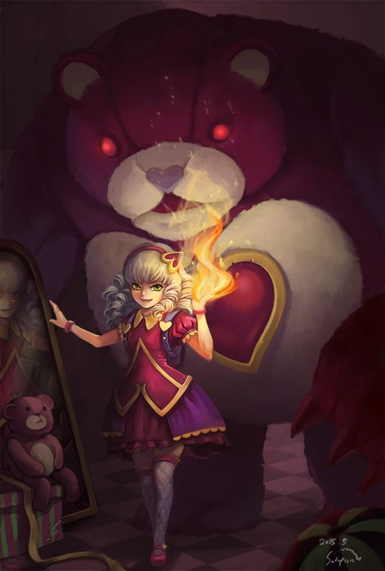 Annie • League Of Legends || Sweetheart... Annie? Damn. I'm not very familiar with the name of her skins...