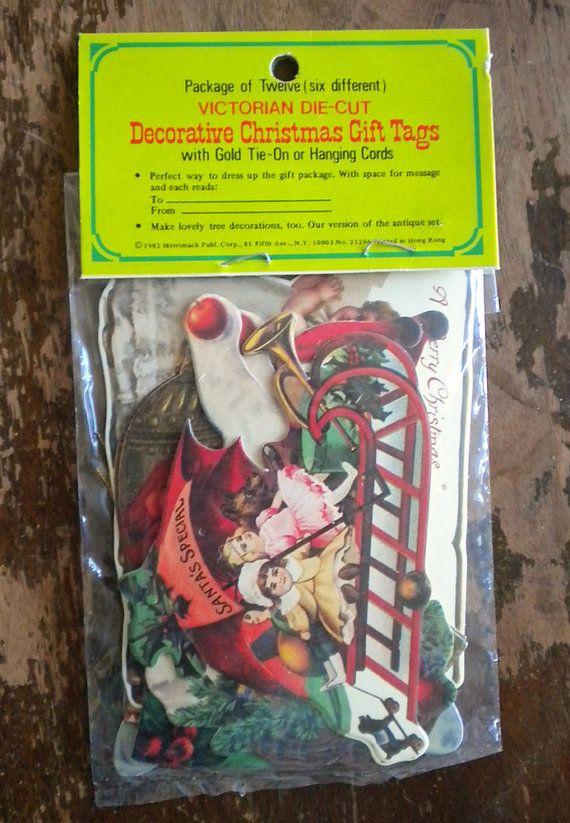 Think, vintage santa claus hang tags