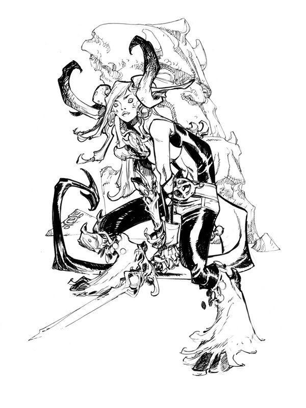 Magik - Eric Canete Comic Art