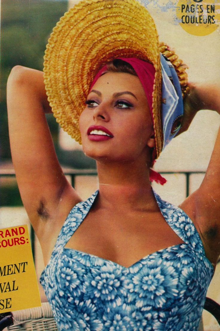 Something sophia loren armpits