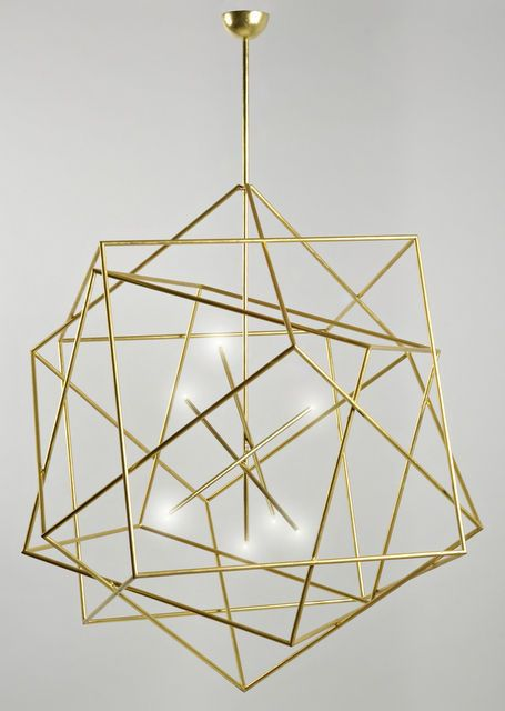Polyedres Chandelier | Hubert le Gall