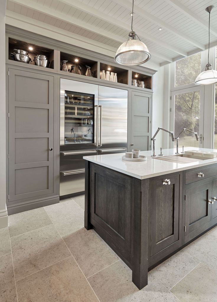Part Of The New Tom Howley Butler Range This Grey Modern Kitchen Is A Perfect Example
