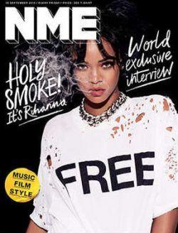 Rihanna está na capa da primeira edição do novo NME #Cantora, #Lançamento, #Novo, #Rihanna http://popzone.tv/rihanna-esta-na-capa-da-primeira-edicao-do-novo-nme/