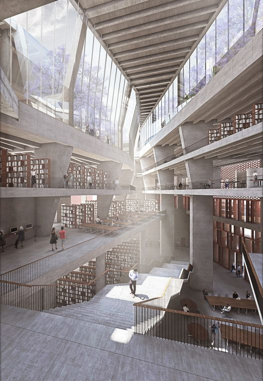 Gallery of McCullough Mulvin Architects Designs University Extension in India…