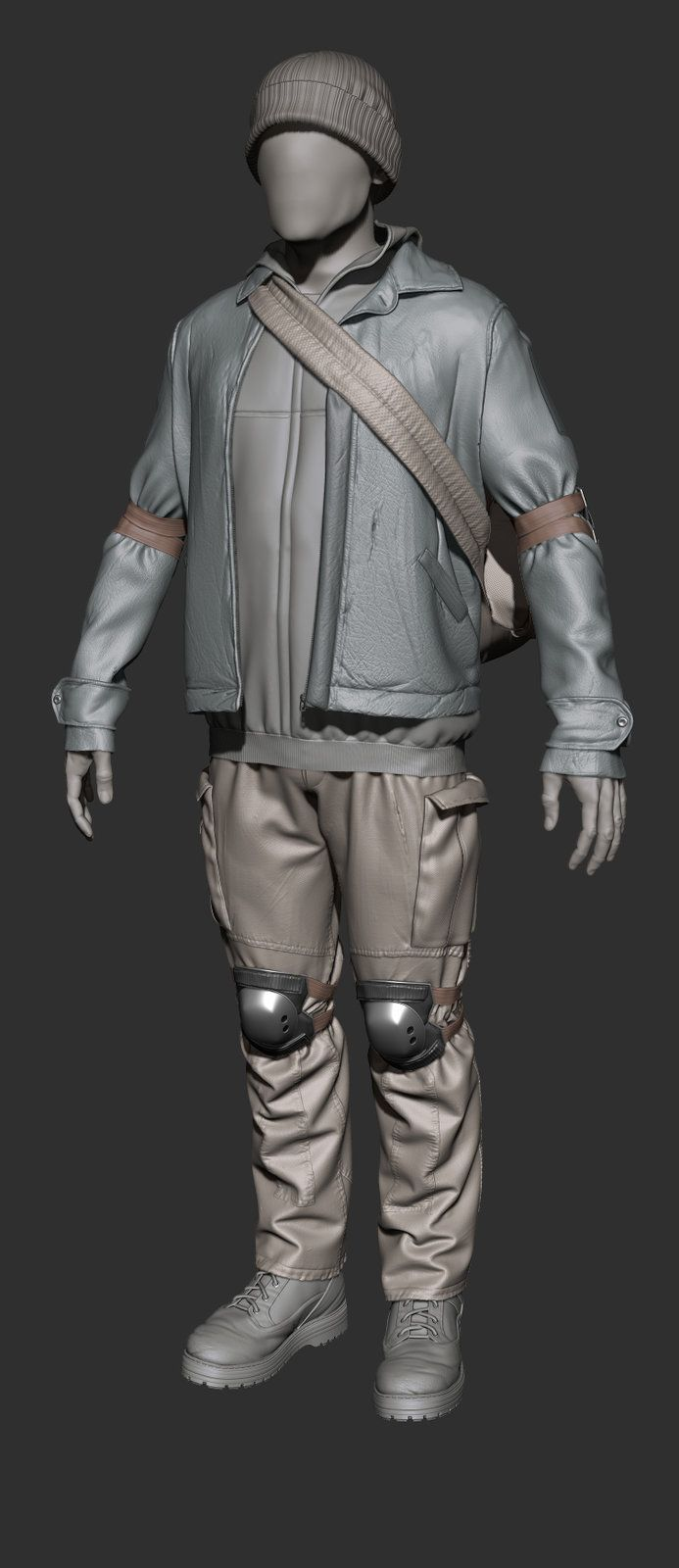 WIP generic male npc, Jon Berry on ArtStation at http://www.artstation.com/artwork/wip-generic-male-npc