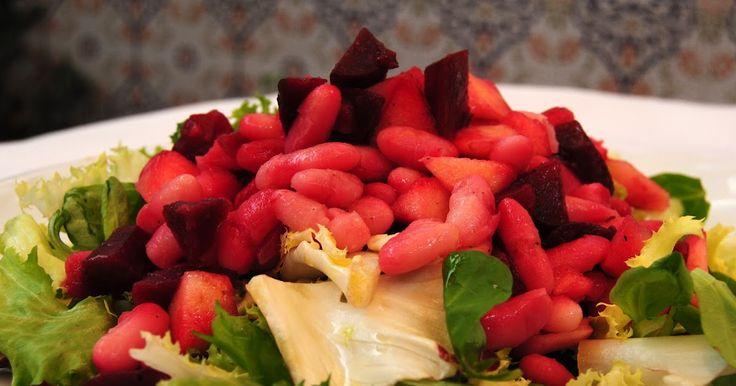 Ensalada de Remolacha con Judías y Manzana (Buriakov salat kvasoleyu i yablokami). Receta           |            Asopaipas. Recetas de Cocina Casera                                                               .