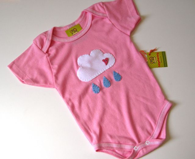"""Body Bebê """"Nuvem"""" - FofysFactory"""
