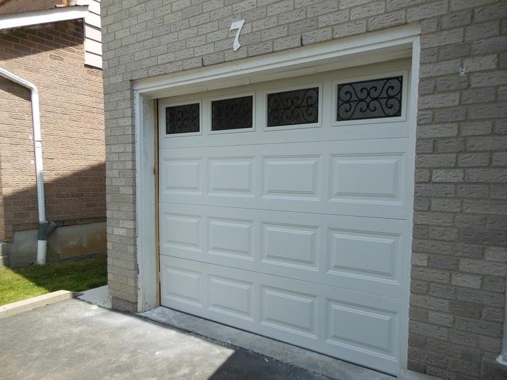 Garage Door With Windows Wrought Iron Short Collection