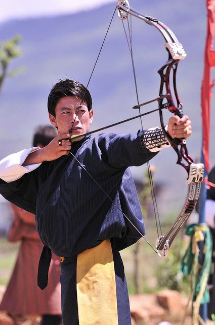 Archery, National Sport of Bhutan