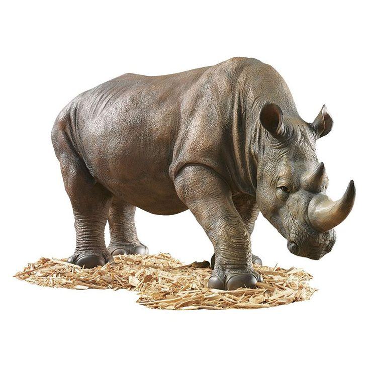 Design Toscano South African Rhino Garden Sculpture - $197.95 @hayneedle