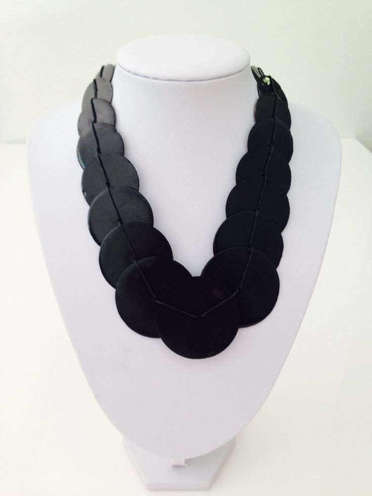 Beautiful black shell necklace $10, go to www.melikeshoes.com.au (We always do free shipping)