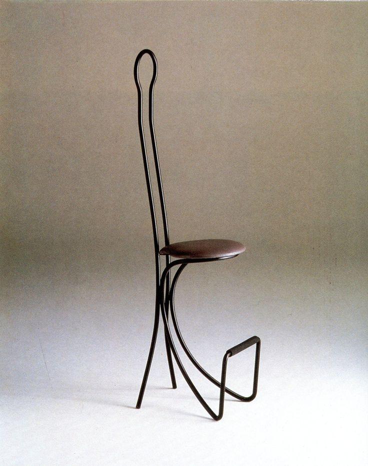 frenchcurious - Achille Castiglioni - Chaise de bar Spluga -...