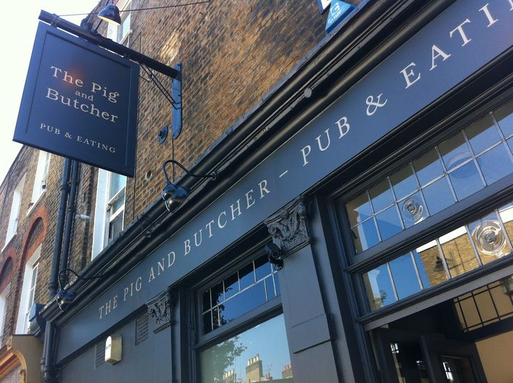 The Pig and Butcher, Liverpool Road, Angel, Islington