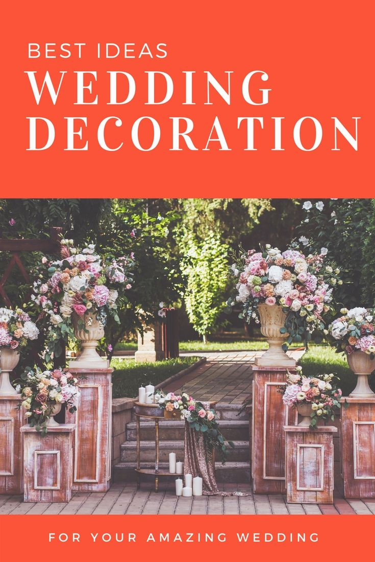 Outdoor wedding decoration ideas cheap  Unique Wedding Decor Ideas Collections  Stunning And Budget