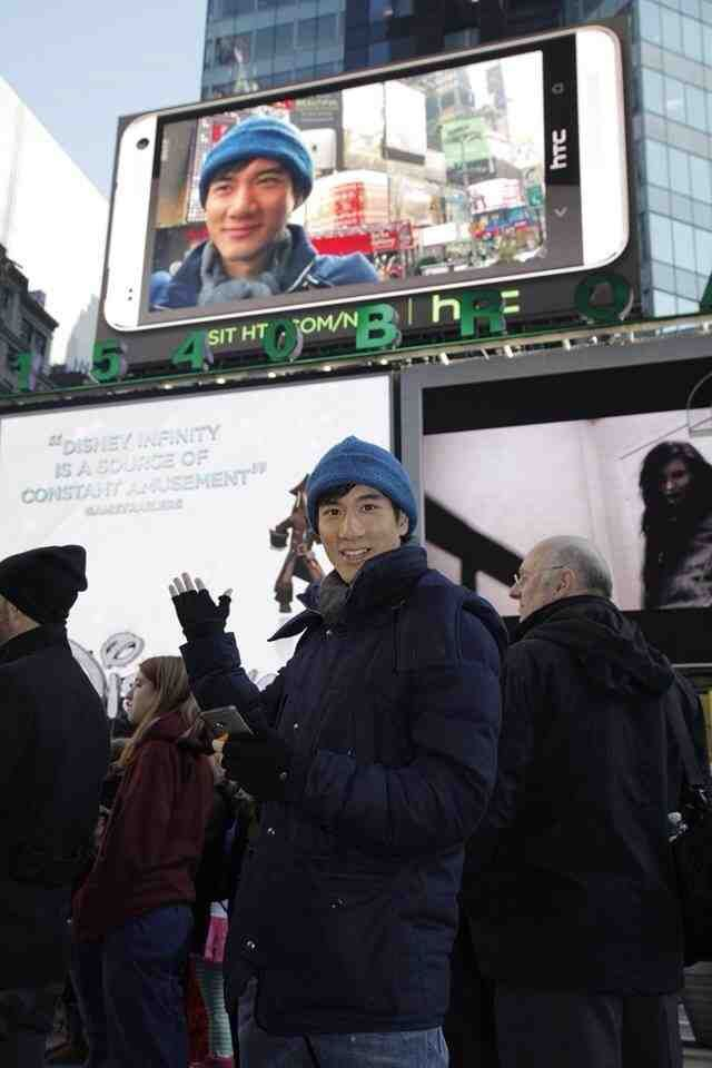 Wang Leehom and Wong Fu Productions spotted filming in NYC