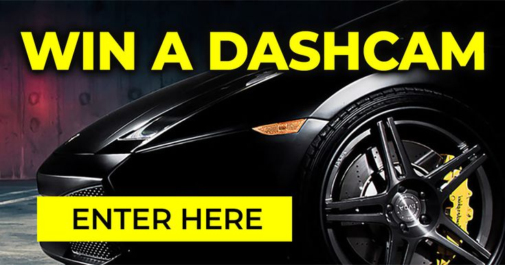 The Awesome, Astonishing, Great Dashcam Giveaway. Just enter your details and we'll send you a ton of the coolest motoring stuff on the planet. Our weekly newsletter packed with amazing featured vehicles, The World Famous Car Quiz, 'must see' videos, and things you just don't want to miss