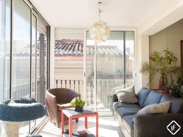 Appartement penthouse de luxe à vendre à Barcelone, près de Port Vell (le vieux port).