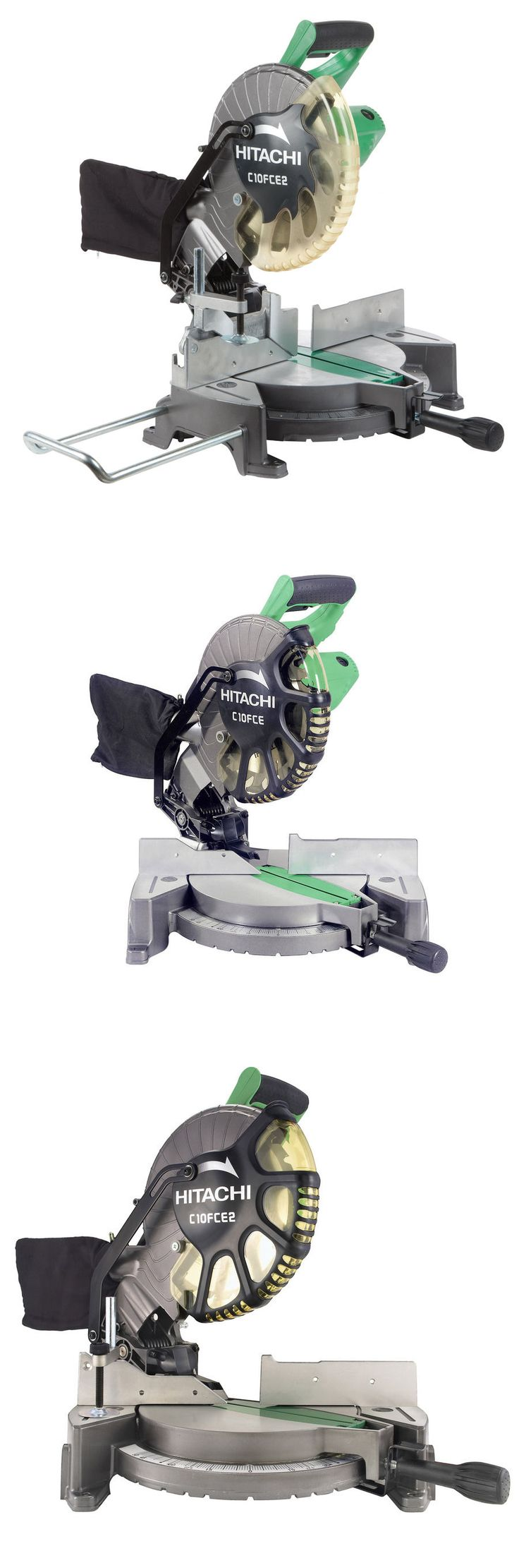 Miter and Chop Saws 20787: Hitachi Bevel Compound Miter Saw - 10 In 15 Amp - Lightweight And Portable -> BUY IT NOW ONLY: $145.99 on eBay!