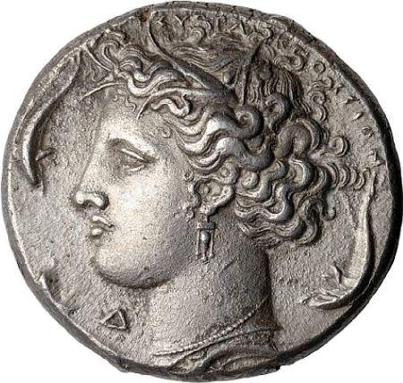 Sicily, Syracuse, Dekadrachm, 405-380 BC