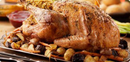 Farce pour dindon aux pommes de terre et au porc haché