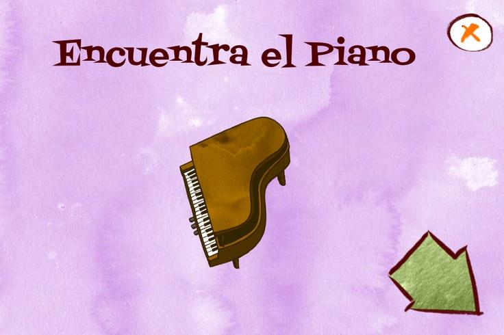 Encuentra el piano #juegos