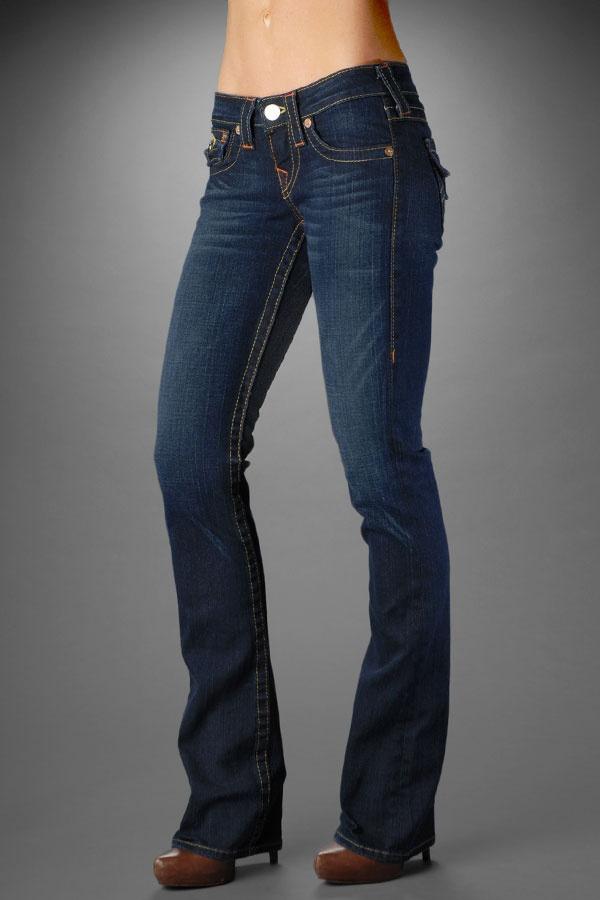 True Religion Jeans Women's Becky Dark Pony Express