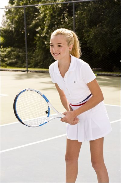 I love tennis! It's a great sport, plus you can do it with a friend. <3!