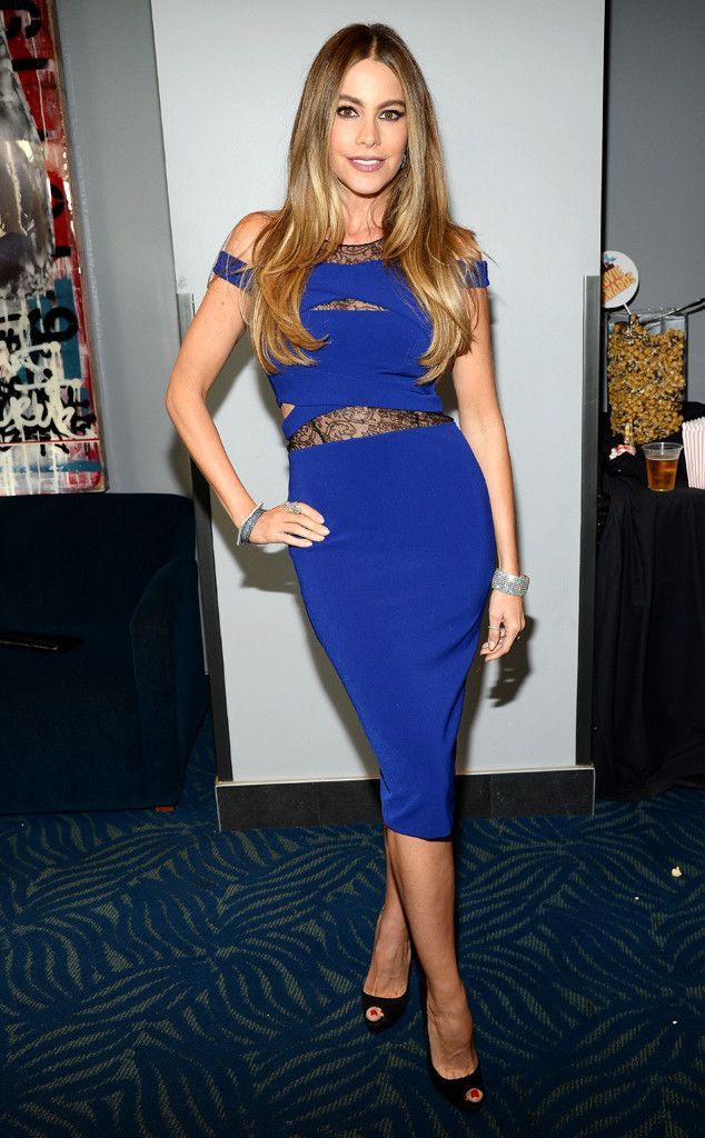 Cobalt Craze from Sofía Vergara's Best Looks  In Noam Hanoch