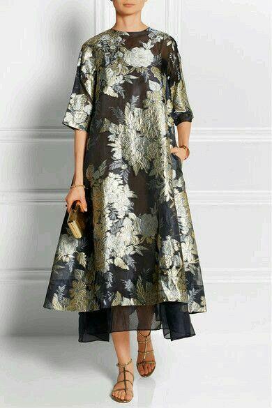 Long dress floral