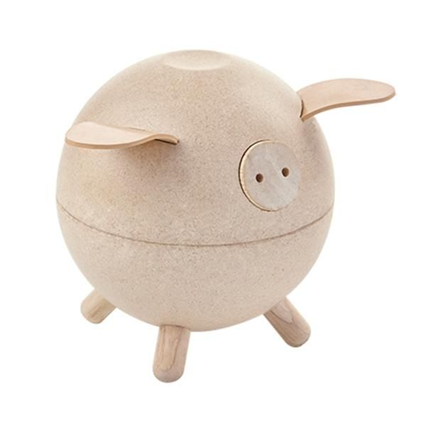 plan toys piggy bank...