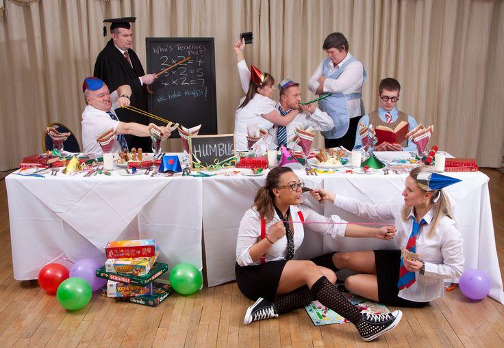 Christmas Skool Dinners, Toorak Hotel, TLH Leisure Resort, Torquay www.tlh.co.uk